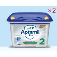 银联爆品日:Aptamil Profutura 爱他美白金版奶粉 德国版 2段 800g 2罐