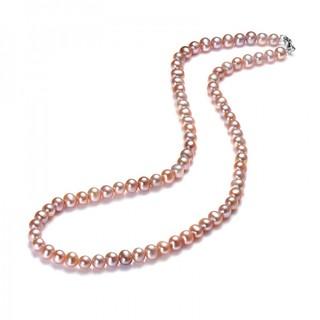 CSmall 银925淡水珍珠项链 珠光溢彩
