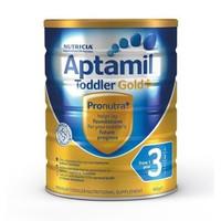 银联爆品日:Aptamil 爱他美 金装系列 婴幼儿配方奶粉 3段 900g