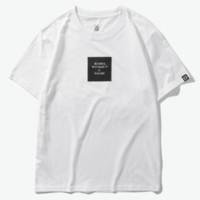 DUSTY 男式休闲简约短袖T恤