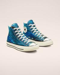 Converse Chuck 70 蓝鲸 男女同款高帮帆布鞋