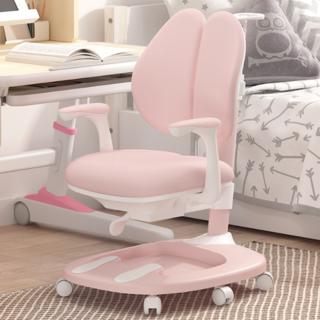 女神超惠买 : 黑白调学习时光  HETY099PS-1 儿童椅 (粉色不带脚托)