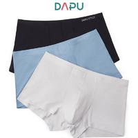 DAPU 大朴 D4N02101 一片式无痕男士内裤 3条装