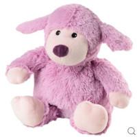凑单品、银联返现购:WARMIES 薰衣草香紫色绵羊 加热仿真毛绒玩具