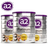 银联专享:A2 艾尔 Platinum 白金婴幼儿奶粉 3段 900g 三件装