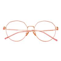 目匠  1802金属近视眼镜眼镜+1.61防蓝光镜片