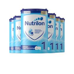 荷兰Nutrilon 牛栏标准配方奶粉1段 800g *6罐