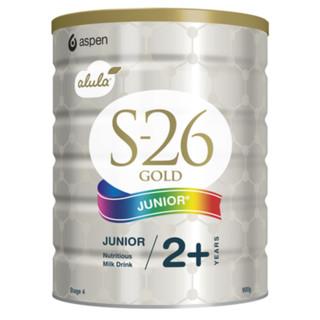 银联爆品日 : Wyeth 惠氏 S-26 Gold 金装 婴儿奶粉 4段 900g