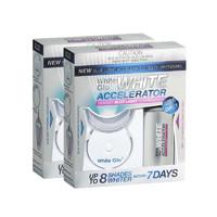 银联专享:White Glo 蓝光牙齿美白仪+美白护牙凝胶 *2件