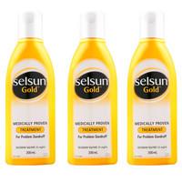 Selsun  特效去屑洗发露 (黄瓶)200ml *3件
