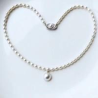 PearlYuumi 優美珍珠 淡水马贝项链 淡水珠