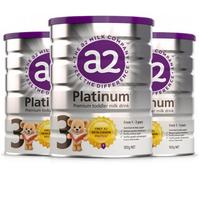 a2 艾尔 白金版 婴幼儿配方奶粉 3段 900g 3罐装
