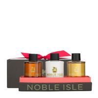 Noble Isle 温暖木香沐浴露三件套装 75ml*3