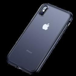 苹果x手机壳 iPhone xr/xs max/8/7plus保护套磨砂硅胶硬壳超薄防摔防刮