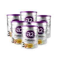 银联专享:a2 艾尔 Platinum 白金版 婴幼儿奶粉 3段 900g 6罐