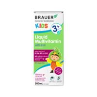 银联返现购:Brauer 儿童复合维生素口服液(含铁)3岁以上 200ml