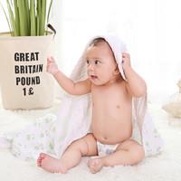 SAFE SOFT SUCCINCT 安织爱 6层加厚纯棉婴儿浴巾 80*110cm
