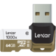 Lexar 雷克沙 Professional 1000x 64GB TF存储卡