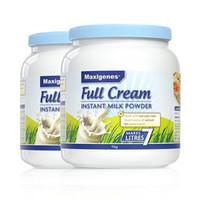 Maxigenes 美可卓蓝胖子高钙全脂成人奶粉 1kg*2罐