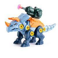 菲利捷 儿童益智拼装可发射恐龙玩具 3软弹