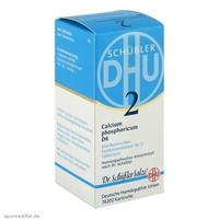 银联专享:BIOCHEMIE DHU 2 磷酸钙D6小麦淀粉补钙片 200片