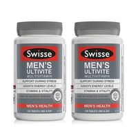 Swisse 男性矿物质复合维生素 120粒*2件