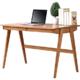 TIMI 天米 全白橡木日式抽屉书桌 电脑桌