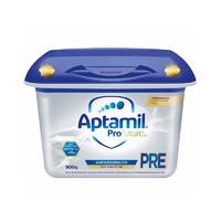 2罐装 Aptamil德国爱他美白金版Pre段婴幼儿配方奶粉 800g