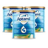 Aptamil 爱他美 金装版 婴幼儿奶粉 2段 900g*3罐