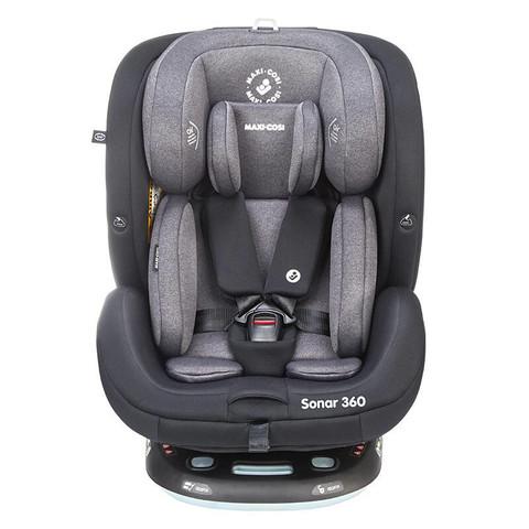 maxicosi迈可适儿童安全座椅汽车用0-7岁 0-12岁 360°可旋转ISOFIX接口五点式 Sonar【0-12岁+360°旋转】 三色可选