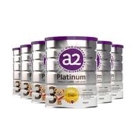 a2 艾尔 【保税仓发货】6罐装 新西兰 a2白金婴儿配方3段奶粉 900g