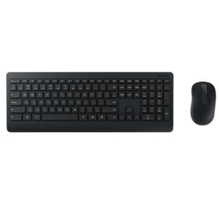 微软无线桌面套装 900 黑色