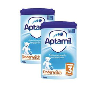 银联专享 :  Aptamil 奥地利爱他美 Junior 婴幼儿配方奶粉 3+段 800g *2