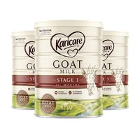 Karicare 可瑞康 婴幼儿配方羊奶粉3段 900g *3罐