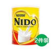 Nescafé 雀巢 NIDO 速溶全脂高钙调制乳粉 900g*2罐