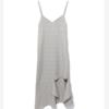 LOS ANGELES PROJECT 挖剪设计吊带格纹连衣裙
