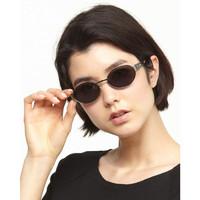LA PERLA 金属椭圆形复古眼镜 *2件