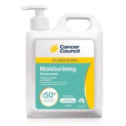 Cancer Council 茜茜尔 强效保湿修护防晒乳霜 SPF50+ 1L