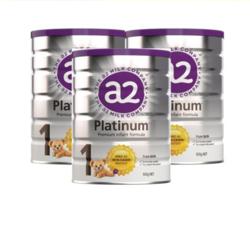 a2 艾尔 Platinum 白金版 婴幼儿奶粉 新版 1段 900g * 3罐