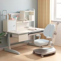 HbadaStudy time 黑白调学习时光 HZH030602US 儿童桌椅(蓝色不带脚托)