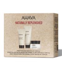 银联专享:AHAVA 精致水润护肤三件套装(日霜15ml+死海泥清洁面膜20ml+晚霜15ml)