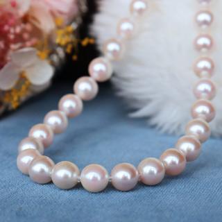 PearlYuumi 優美珍珠 Akoya海水珍珠6-7mm 全珠项链42cm
