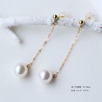 PearlYuumi 優美珍珠 K18黄金珍珠耳坠