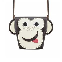 Zatchels 动物系列 猴子水桶包