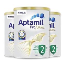 Aptamil Profutura 爱他美 铂金版奶粉2段 900g *3罐