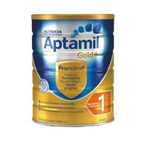 Aptamil澳洲爱他美1段金装婴幼儿奶粉 900g 3罐装