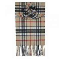 Lochcarron 洛赫卡伦驼色托马森高级羊绒围巾