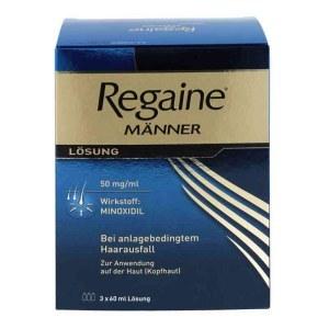 Regaine 倍健男士专用生发剂60 ml*3件