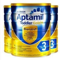 Aptamil 澳洲爱他美 金装 婴幼儿奶粉 3段 900g*3罐装