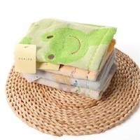 新人专享:UCHINO 内野 puni puni可爱小动物方巾4条装